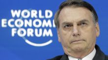 Brazilian leader at odds with Davos focus on environment
