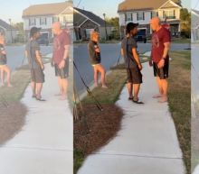 Army sergeant pushes Black man, demands he leave neighborhood in viral video