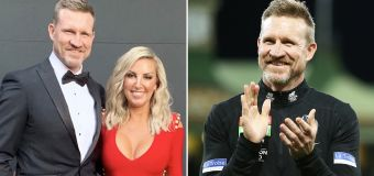 Ex-wife's telling act after Nathan Buckley departure