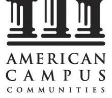 American Campus Communities Provides Update Regarding the Resumption of the Disney College Program