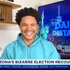 Trevor Noah Loses It Over The Wildest Tidbit From Arizona's Recount