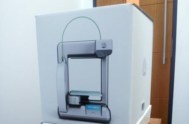 UK giveaway: Win a Cube 3D printer courtesy of Cartridgediscount.co.uk