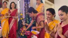 Ankita Lokhande celebrates Ganpati festival with her mother after Sushant; Watch video