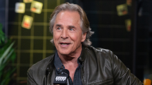 """Don Johnson & The """"Knives Out"""" Cast Exchanged War Stories The Entire Time On-Set"""