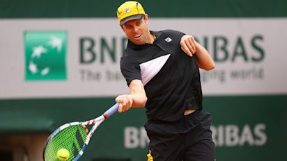 Querrey flees Russia after positive COVID-19 test