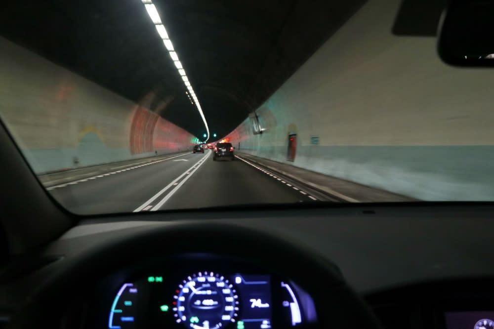 在兩套系統通力運作下,即使是漫長的雪山隧道依然輕鬆無壓力