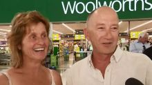 Surprise Woolies wedding for QLD couple who met outside store