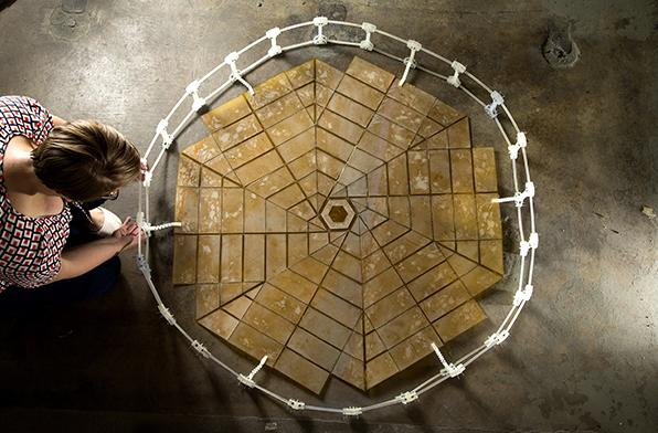 NASA researchers use extreme origami to build space solar panels