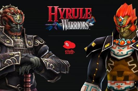 Hyrule Warriors in the club get two legendary Ganondorf outfits