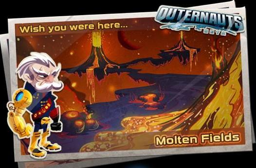 Insomniac and EA's Outernauts begin Facebook exploration today