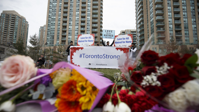 Toronto van attack victims were 'predominantly female'