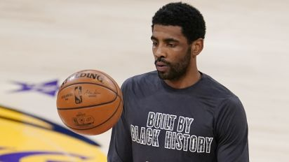 Kyrie on Kobe as NBA logo idea: 'It needs to happen'