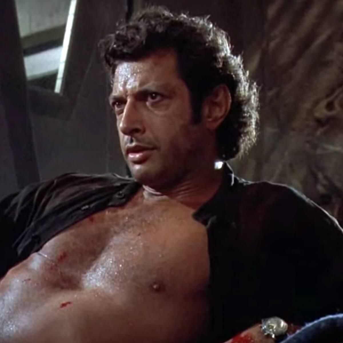 Why Jeff Goldblum Just Recreated His Iconic Shirtless Scene From Jurassic Park