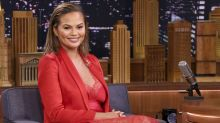 Chrissy Teigen Literally Bowed Before Beyoncé at the Grammys and Called Her 'My Queen'