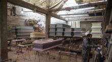 Coffin-makers booming as Peru virus deaths soar
