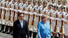 China, Germany bullish on investment as Merkel visits Beijing under shadow of Trump trade threats