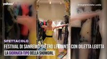Festival di Sanremo: dietro le quinte con Diletta Leotta