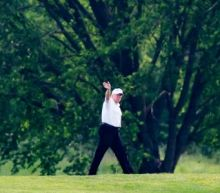 Trump spends Memorial Day weekend golfing and insulting female politicians