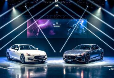 【新車登場】油電海神!Maserati Ghibli MHEV
