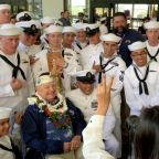 1 of 3 remaining Pearl Harbor survivors attends remembrance ceremony, held days after shooting tragedy