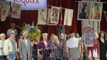 Vivienne Westwood uses London Fashion Week catwalk to protest Brexit