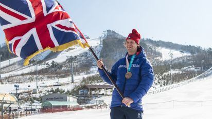 Winter Olympics: Peoples' champion Morgan perfect choice for Team GB flagbearer
