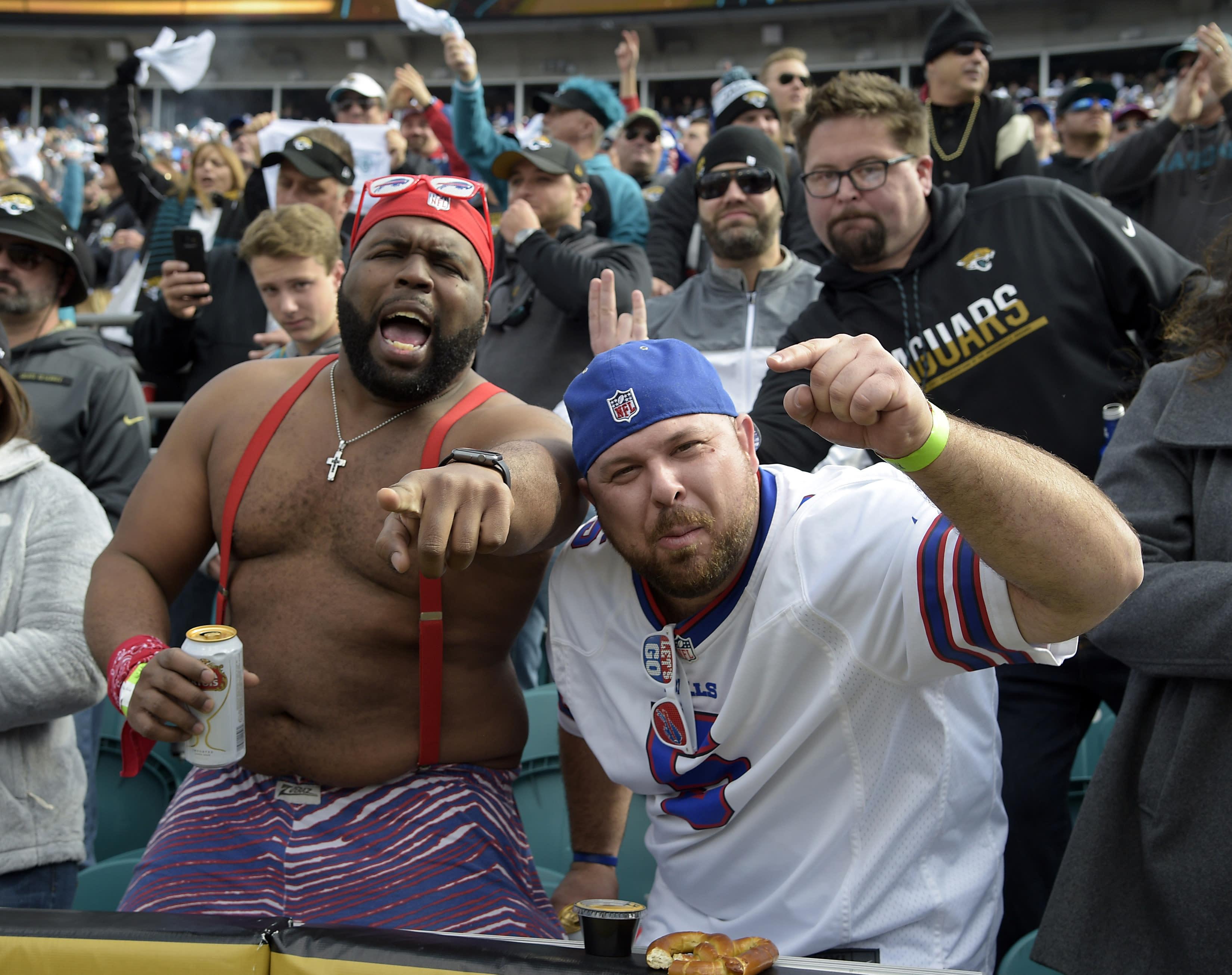 Bills Mafia Engulfs Jacksonville Before Wild Card Game