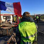 Support falls for France's 'yellow vest' protests: polls