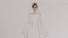 Sketches of Meghan Markle's Givenchy wedding dress revealed — plus, what Prince Harry told the designer