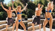 Miley Cyrus dançando Fat Family e Tchakabum? Vídeo da cantora viraliza com versões brasileiras