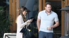 Chris Pratt Enjoys Breakfast with Girlfriend Katherine Schwarzenegger's Dad, Arnold!
