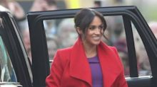 Meghan Markle Wore Her Brightest and Boldest Look Yet for Her Birkenhead Visit