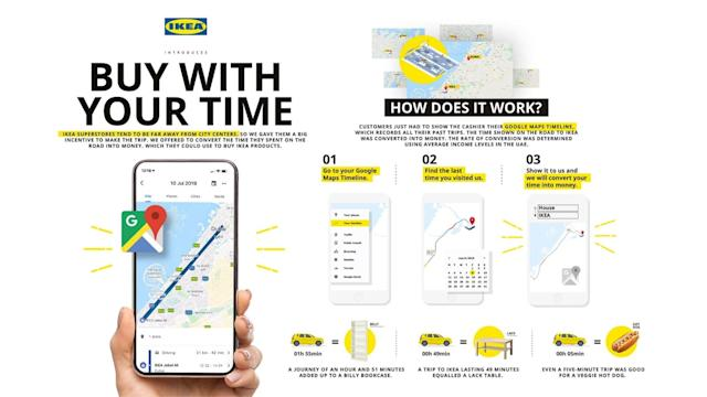 IKEA gave Dubai customers discounts based on their Google Maps travel times