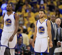 Curry, Durant shine as Warriors sweep into NBA Finals