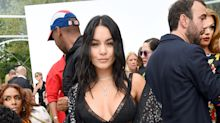 Vanessa Hudgens shows off her insane abs at New York Fashion Week