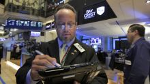 US stock indexes slide in midday trading; oil rises