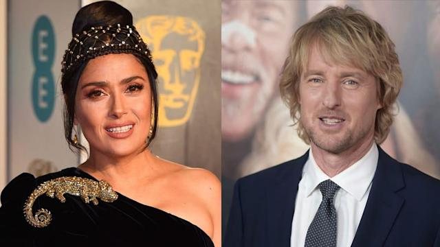 Amazon's sci-fi drama 'Bliss' to star Salma Hayek and Owen Wilson