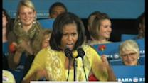 "Michelle Obama: ""It felt so good"" to vote for Barack"