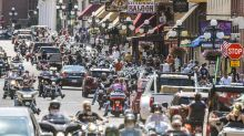 Motorcycle Rally In Sturgis Draws Thousands Of Largely Unmasked Bikers