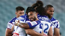 South Sydney Rabbitohs 16-26 Canterbury Bulldogs: First-half onslaught leaves Bunnies reeling