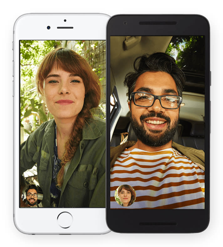 Google releases Duo app for Android and iOS, rivaling