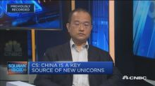 Credit Suisse compares American and Chinese unicorns