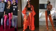 Anitta usa bota queridinha de Rihanna e Kendall Jenner que custa R$ 11 mil