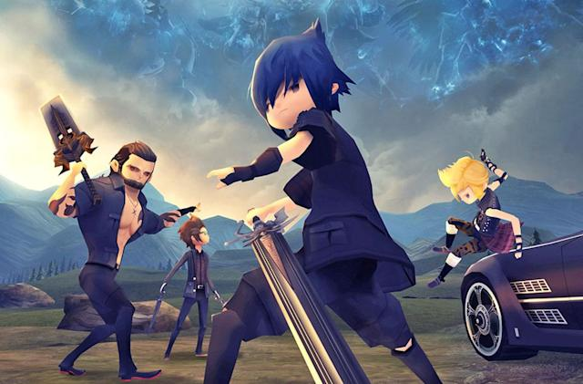 'Final Fantasy XV: Pocket Edition' launches February 9th