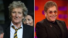 Rod Stewart says Elton John farewell tour 'stinks' and is 'dishonest'