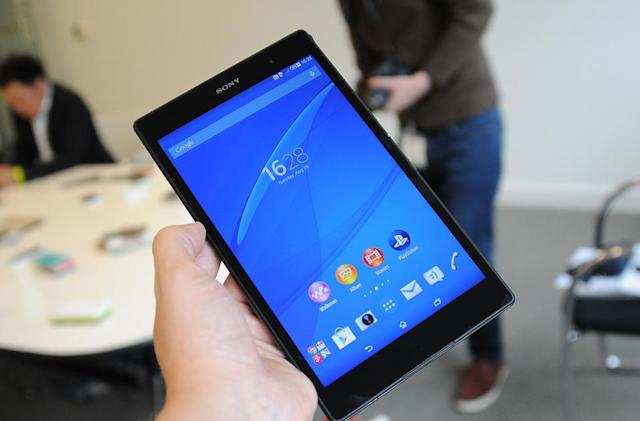 Sony's new tablet lets you play PS4 games and call your mother