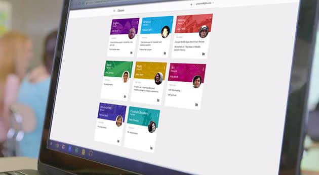 Google Classroom helps teachers easily organize assignments, offer feedback