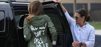 Trump: Yes, Melania's jacket had a message