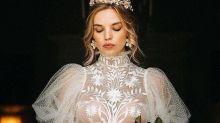 Eye-popping wedding dress detail 'leaves little to the imagination'