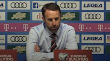 Gareth Southgate 'saddened' by racist abuse aimed at England players